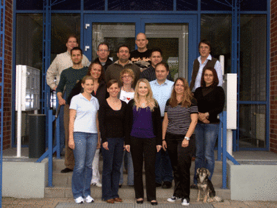 The team at mosaiques diagnostics GmbH