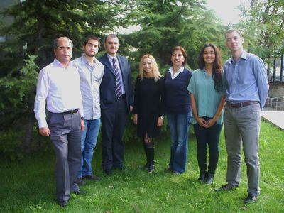 Dr. Ozaltin's team at Hacettepe University