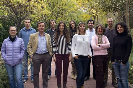 Prof. de Cordoba's team at CSIC